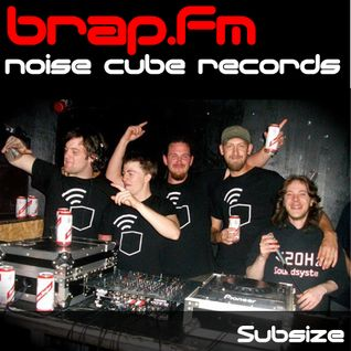 Subsize on brap.fm 06.12.11 - Noise Cube Records Takeover