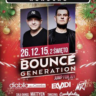 Diabllo & Emdi live - Bounce Generation Party Arena Club Kokocko 26.12.2015 r.