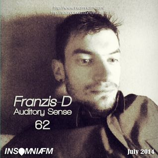 Franzis-D - Auditory Sense 062 @ InsomniaFm - Jul 10, 2014