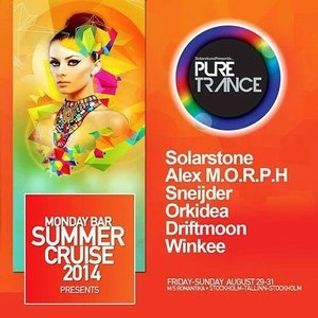 Orkidea – Live @ Pure Trance (Monday Bar) – 29-AUG-2014