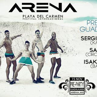 Live @ ARENA FESTIVAL Pre-Party Guadalajara (Soundcloud Edit)