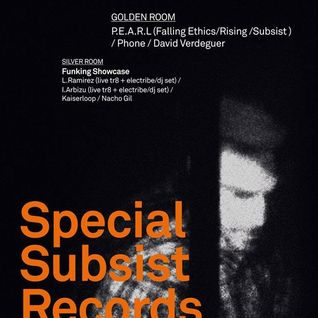 Phone @ Miniclub Special Subsist Records Party (8.8.14)