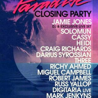 Craig Richards - Live @ Paradise Closing Party, DC-10 Ibiza - 27.09.2012