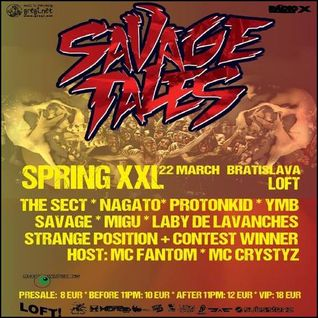Savage practise for Savage Tales @ Tilos Radio 20140320