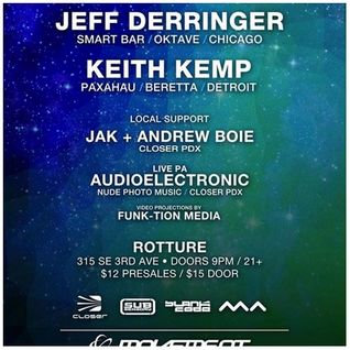Keith Kemp DJ set @ Closer PDX Movement Pre-Party May 2015