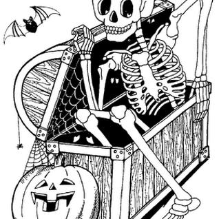 Bonehorse episode 13 - spooky special
