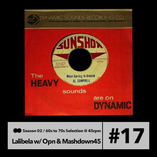 Lalibela #46 || 23.03.2014 || Mashdown 45 guest mix (Late 60´s to mid 70´s Selection @ 45rpm)