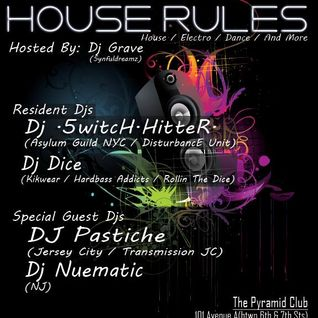 DJ Pastiche Live @ The Pyramid Club in NYC