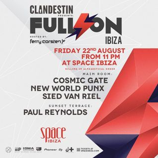 New World Punx - Live @ Full On Ibiza Space Ibiza (Spain) 2014.08.22.
