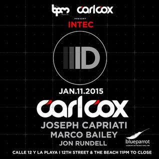 Joseph Capriati  - Live At Intec Digital, Blue Parrot (The BPM Festival 2015, Mexico) - 11-Jan-2015