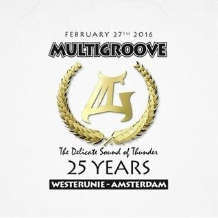 Vinyl Freestyle pre set  Multigroove 25 years - The Delicate Sound of Thunder - Classics - DJ Baba