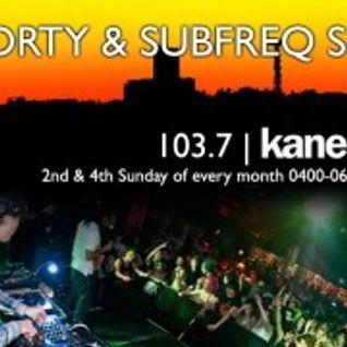 KFMP: The SUBFREQ & DRTY Show 01/04/2012