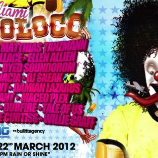 Davide Squillace vs Matthias Tanzmann - Circo Loco Pool Party at The Surfcomber (22-03-2012)