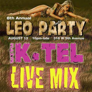 DJ K-Tel Live at Leo Party 2011 - Beaumont Studios