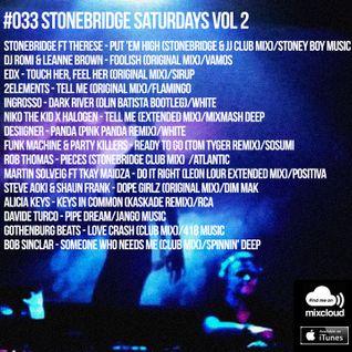 #033 StoneBridge Saturdays Vol 2