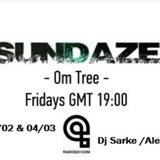 Sarke - Om Tree - #002 -[2nd- hour-Guest- ‎Radio Q37] -25-03-16