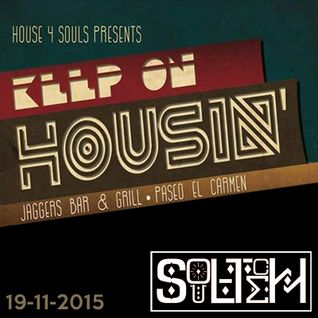 Soultech @ Keep On Housin 19-11-2015