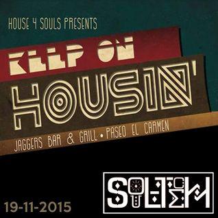Soultech @ Keep On Housin 19-11-2015