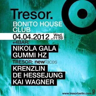 Kai Wagner @ Tresor Berlin 04.04.2012