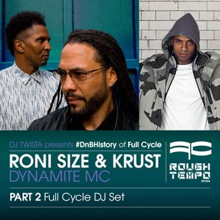 Roni Size & Krust, Dynamite Mc - DJ Twista - Rough Tempo Part 2 - DJ Set