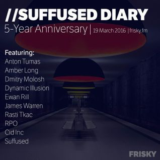 FRISKY | Suffused Diary 062 (5-Year anniversary) - James Warren