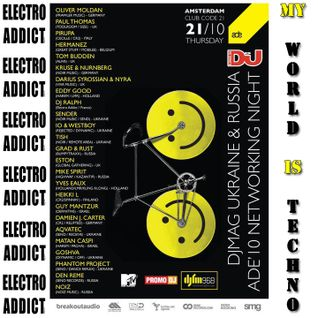DJ Ralph Podcast - Electro Addict N°55 - My World Is Techno