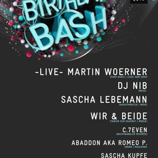 @ DJ Nibs Birthday Bash (Smokebox - THW Frankfurt) 05.01.2013