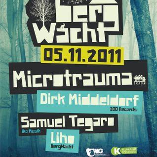 Microtrauma @ 3 years BergWacht Artheater Cologne 05.11.2011