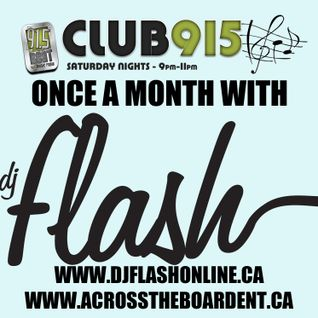 DJ Flash-Club 915 July 11 2015