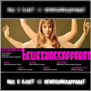 Nox - DJset || Bewegungsapparat @ 130BPM Podcast |27.09.2014|