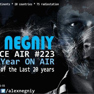 Alex NEGNIY - Trance Air #223 [ 4 Year ON AIR - Best Tracks / 20 years  ]