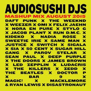 DJ Jeffrey  x Audio Sushi Mashup Mix 2016 - www.audiosushi.party - Mixtape