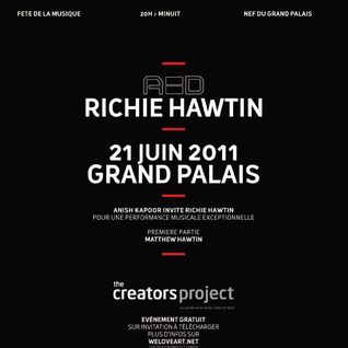 Richie Hawtin Live @ Red,Grand Palais - France (21.06.11)