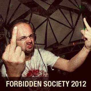 FORBIDDEN SOCIETY PROMO MIX 2012