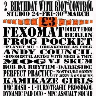 Fexomat@TERROR's 2nd Birthday [Studio24_Edinburgh] 2012