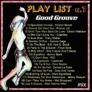 Boogie Funk R&B Good Groove Mix#7