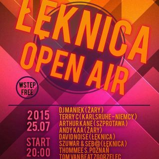 DJ Maniek Live at Leknica Open Air 25.07.2015