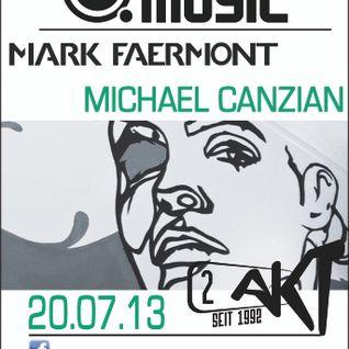 Mark Faermont & Michael Canzian Live at 2. Akt Zurich 20.07.2013 - Pt2