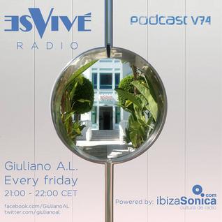 Giuliano A.L. Con Amore Ibiza Radio Es Vive #74