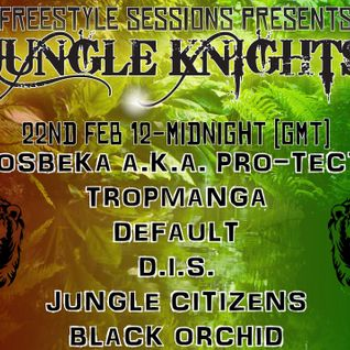 Freestyle Sessions Present's Jungle Knights v.09 - Jungle Citizens & Chesire Cat 22nd february 2014