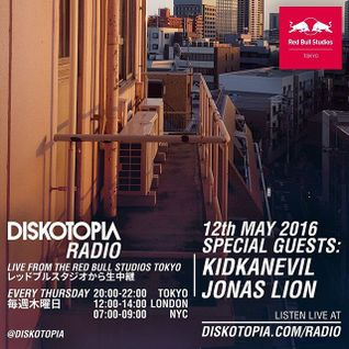 Diskotopia Radio 12th May 2016 w/ Kidkanevil & Jonas Lion