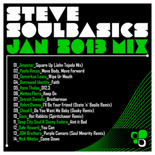 Steve SoulBasics - January 2013 Mix