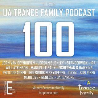 meHiLove - Guest Mix 4 UA Trance Family [December 2014]