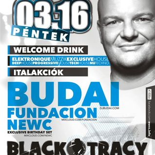 fundacion @ Black Tracy, Miskolc after DJ BUDAI 2012-03-16