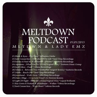 Meltdown Podcast#005 MLTDWN & LADY EMZ 01/01/2013