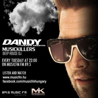 Dandy live at Music Killers at MusicFM 2013.12.03.