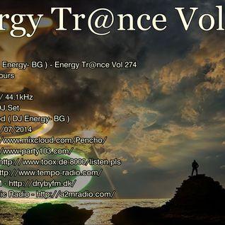 Pencho Tod ( DJ Energy- BG ) - Energy Trance Vol 274