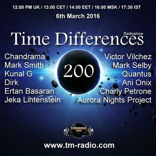 Quantus-Time Differences - Special 200. Episode Guest Mix [6. March 2016] -TM Radio