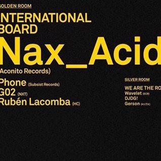 Phone @ Miniclub // International Board Night (10.7.15)