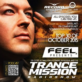 DJ Feel – TOP 30 OF OCTOBER 2015 (09-11-2015)